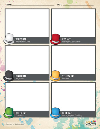 Use this free printable for students to record their thoughts as they ...
